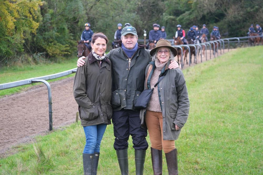 Lucinda, Jeremy and Clodagh